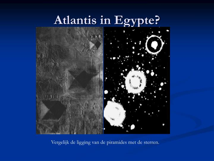 Atlantis in Egypte?