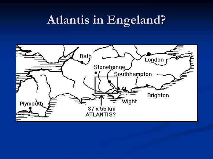 Atlantis in Engeland?