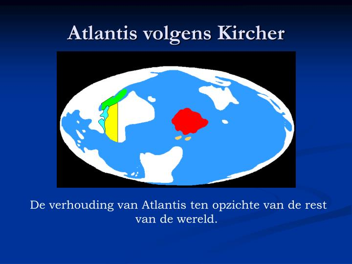 Atlantis volgens Kircher
