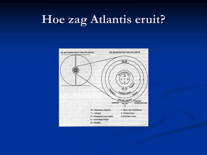 Hoe zag Atlantis eruit?