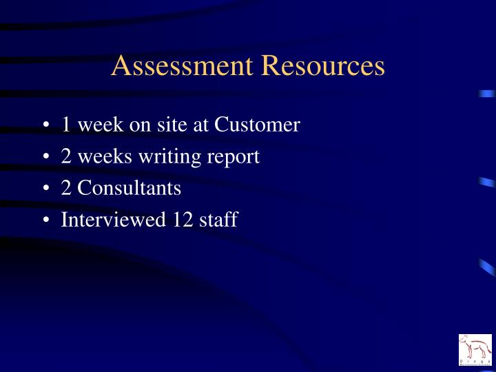 Assessment resources l.jpg