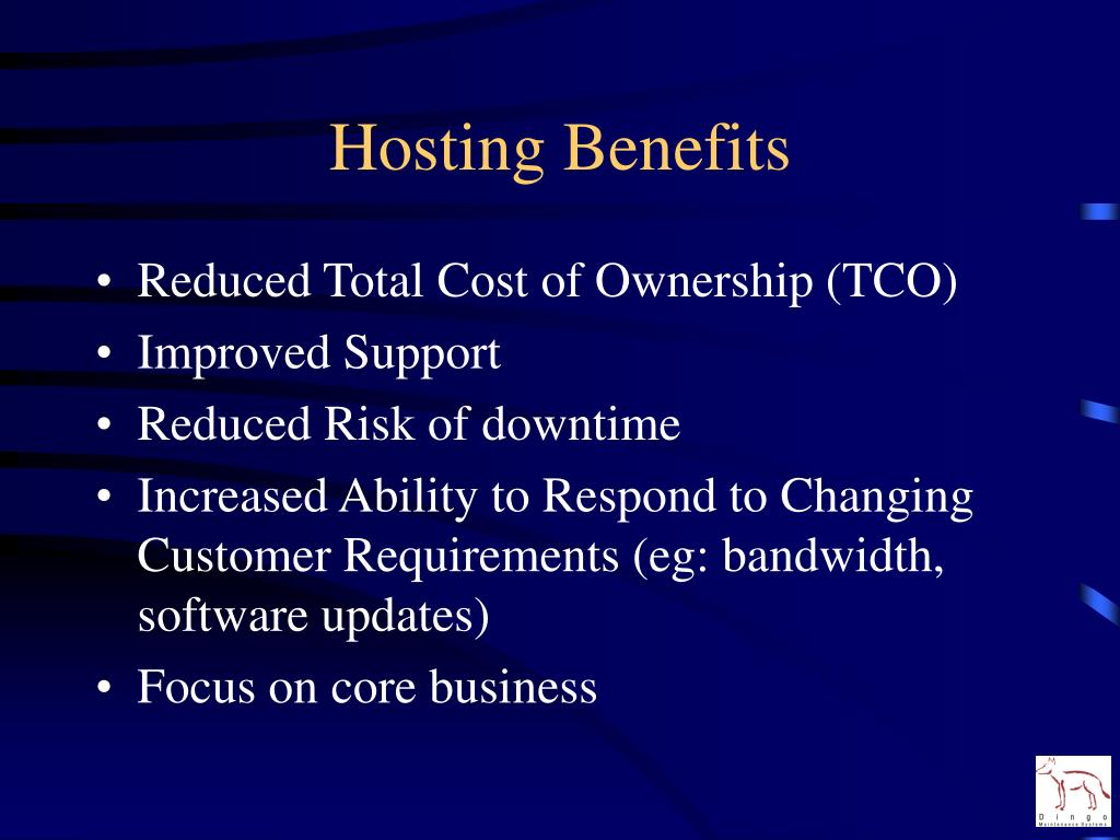 Hosting Benefits