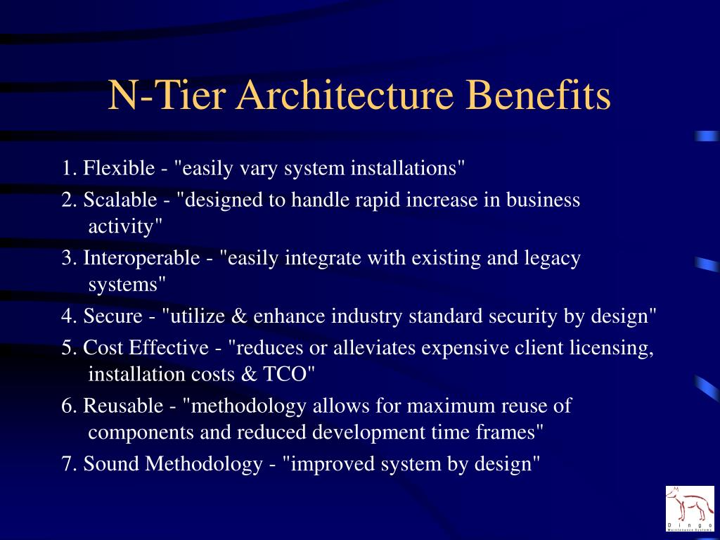 N-Tier Architecture Benefits