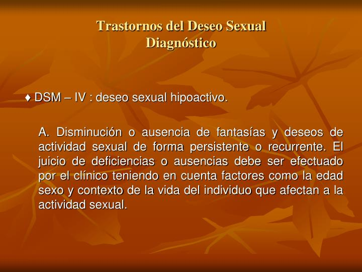Trastorno bipolar del deseo sexual