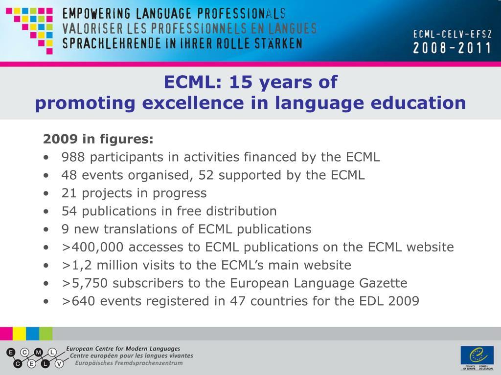 ECML: 15