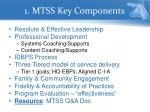 1 mtss key components