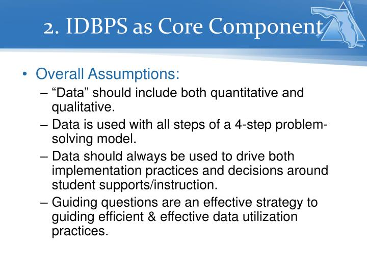 2. IDBPS as Core Component