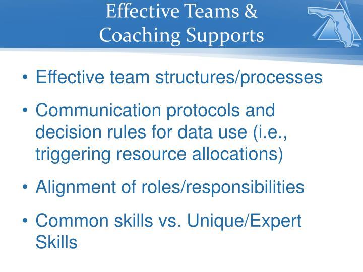 Effective Teams &