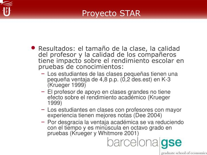 Proyecto STAR