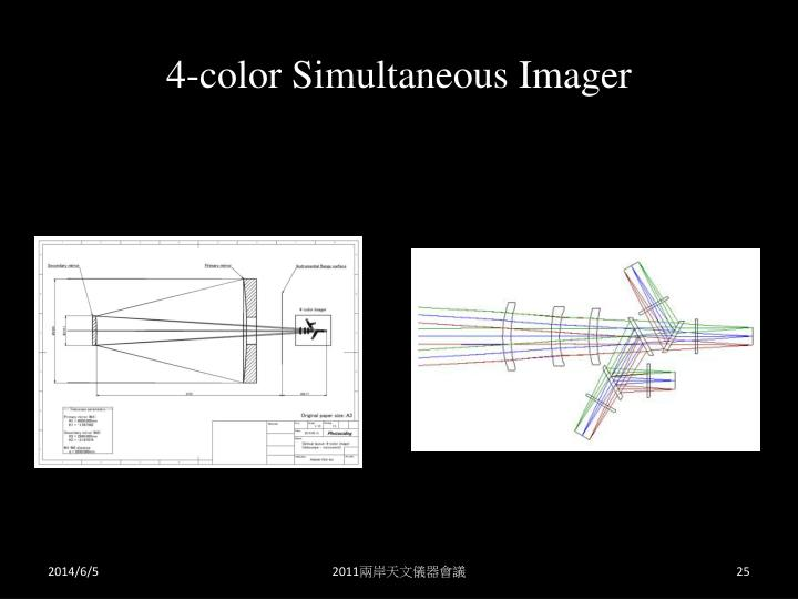 4-color Simultaneous Imager