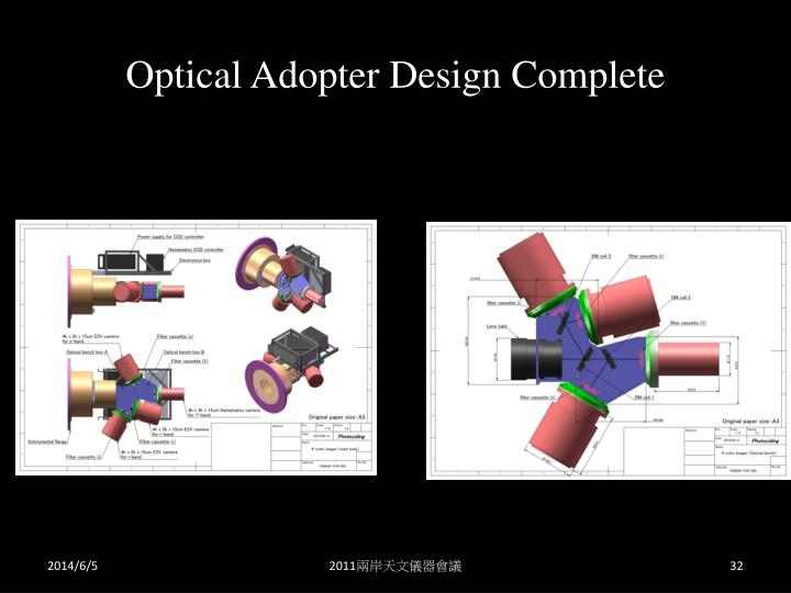 Optical Adopter Design Complete