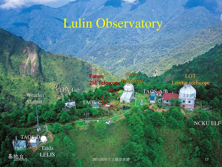 Lulin Observatory
