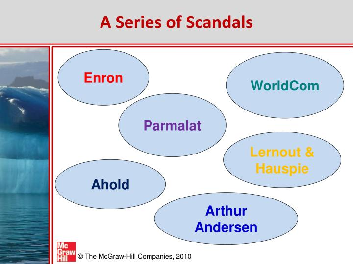 A Series of Scandals