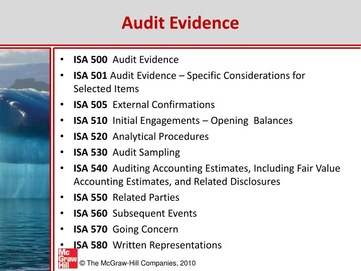 Audit Evidence
