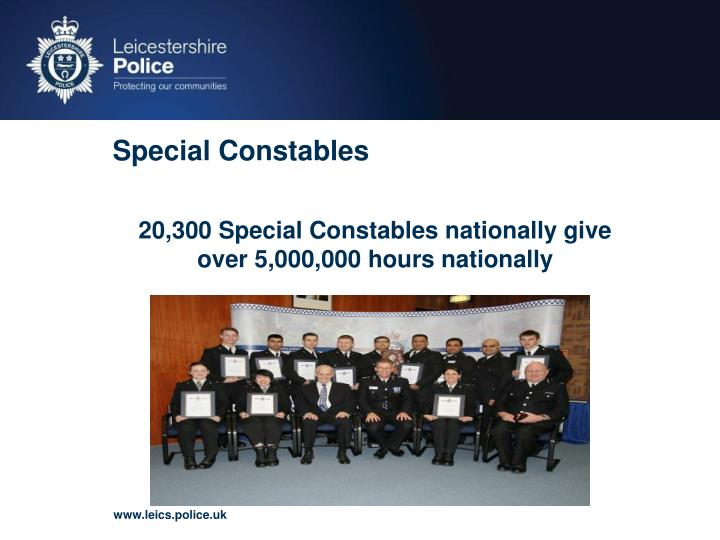 Special Constables