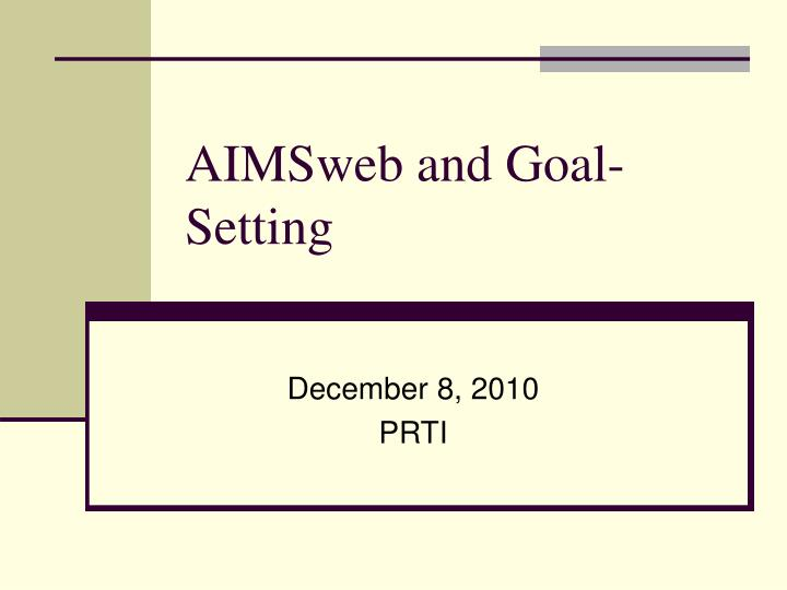 Declarative image for printable aimsweb probes
