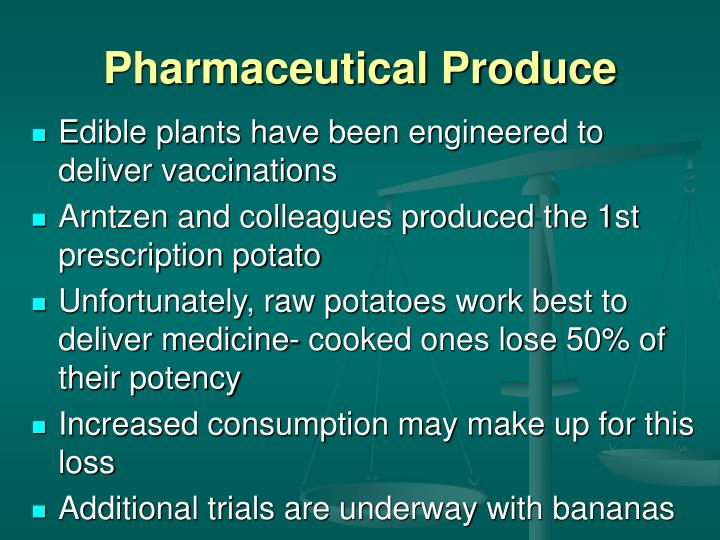 Pharmaceutical Produce