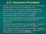 u s insurance providers