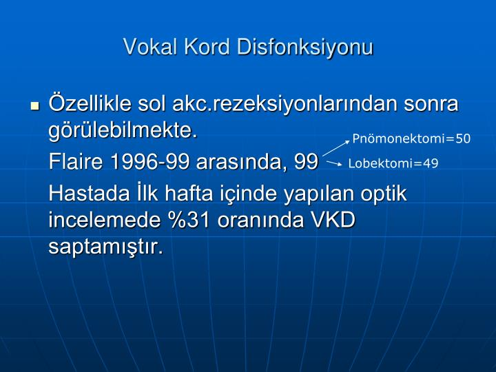 Vokal Kord Disfonksiyonu