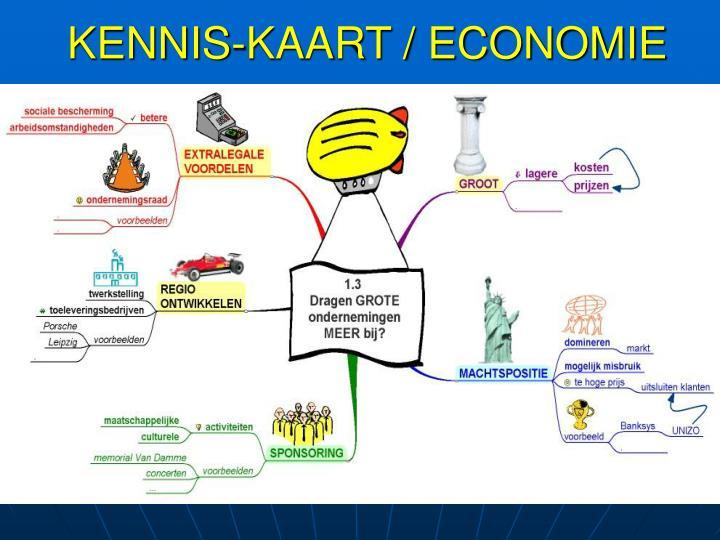 KENNIS-KAART / ECONOMIE