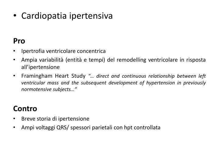 Cardiopatia ipertensiva