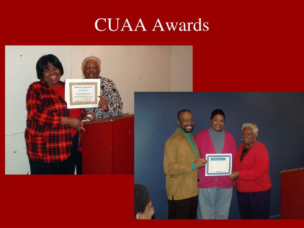 CUAA Awards