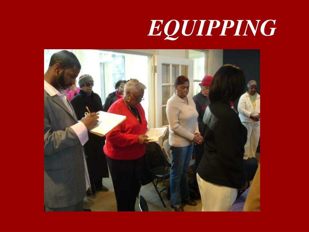 EQUIPPING