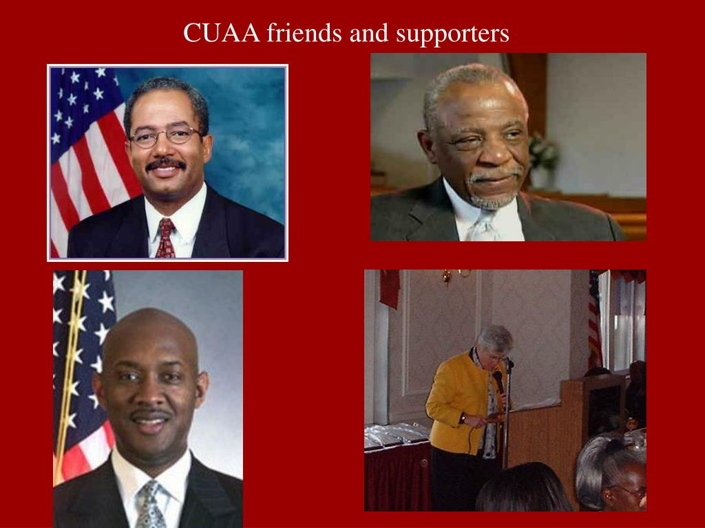 CUAA friends and supporters