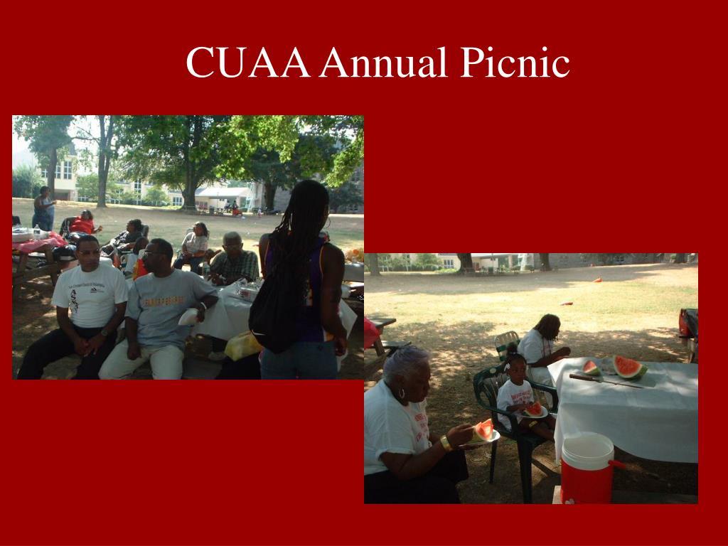 CUAA Annual Picnic