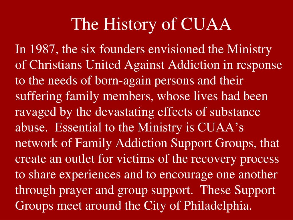 The History of CUAA