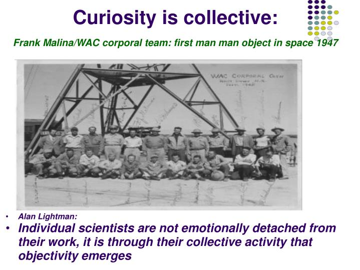 Curiosity is collective: