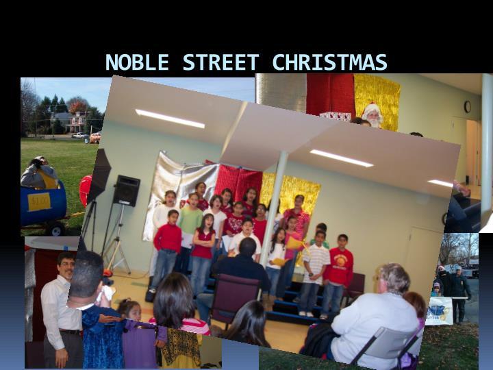 NOBLE STREET CHRISTMAS