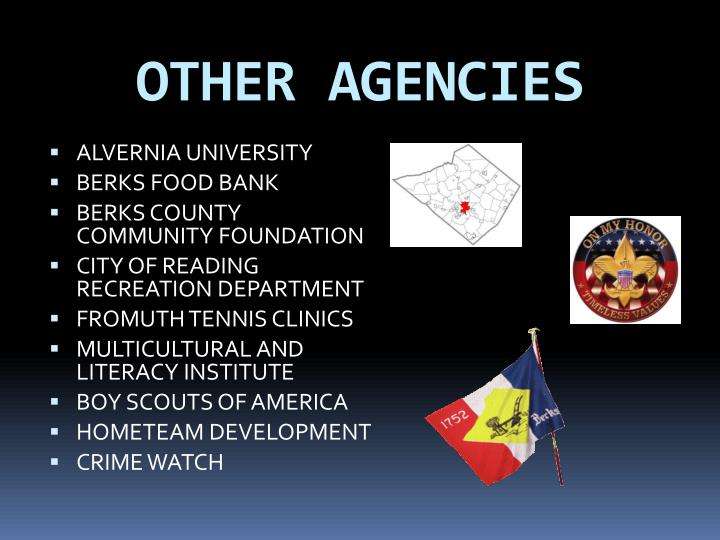 OTHER AGENCIES
