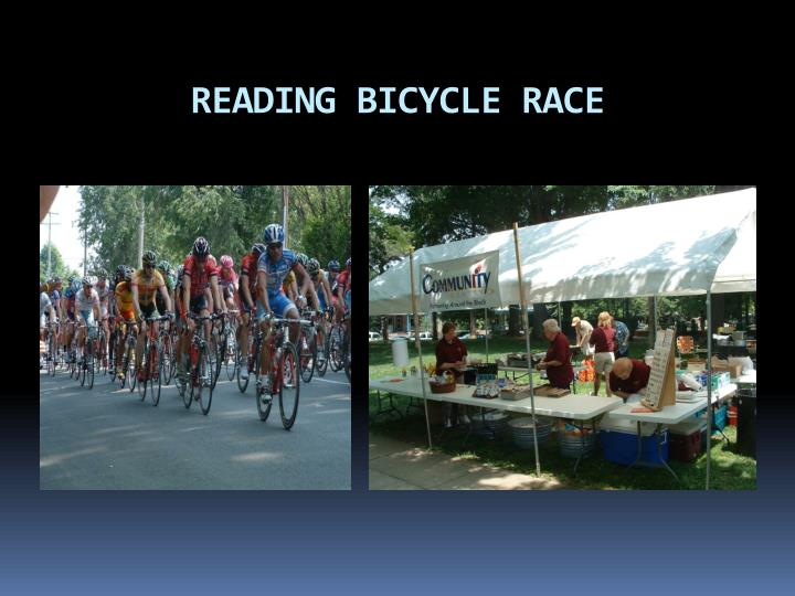 READING BICYCLE RACE