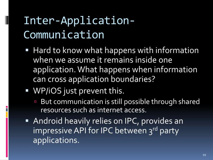 Inter-Application-Communication
