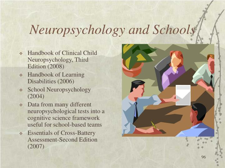 Neuropsychology and Schools