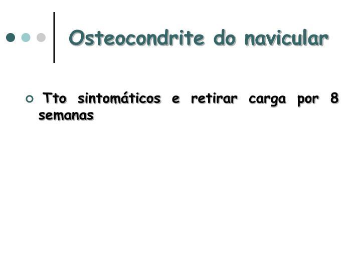 Osteocondrite do navicular