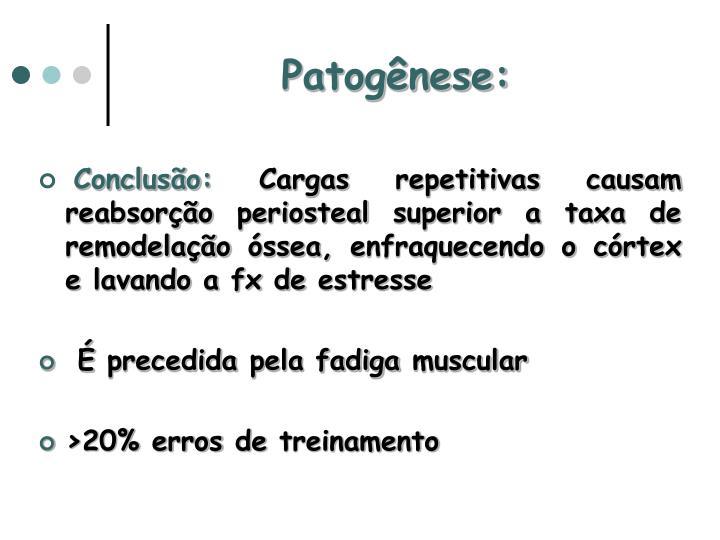 Patogênese: