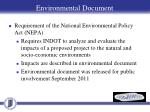 environmental document