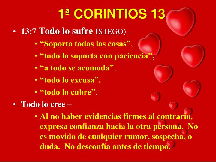 1ª CORINTIOS 13