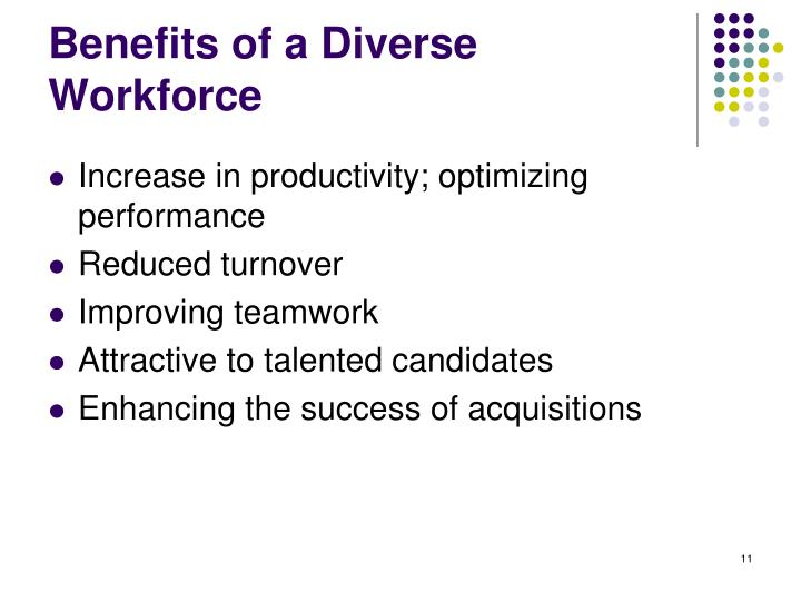 Benefits of a Diverse Workforce