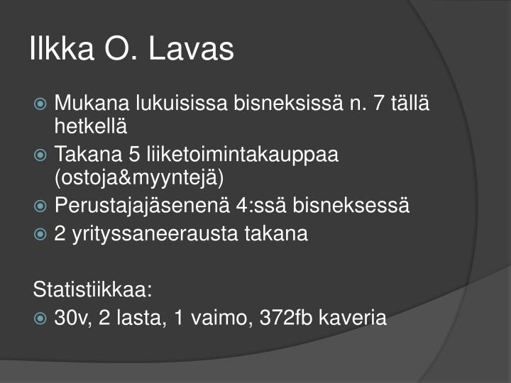 Ilkka O. Lavas