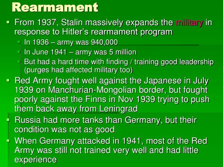 Rearmament