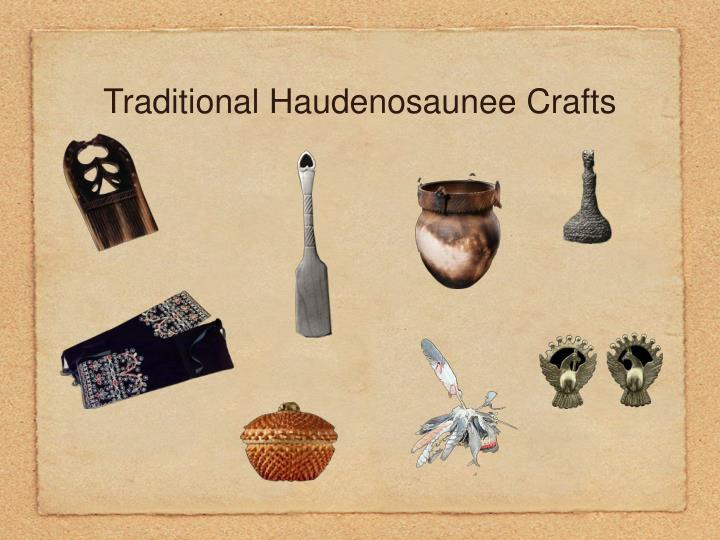 Traditional Haudenosaunee Crafts