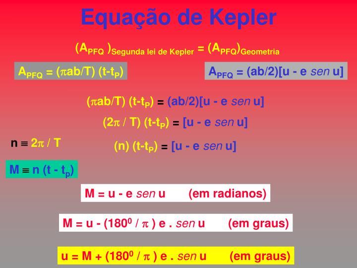 Equação de Kepler