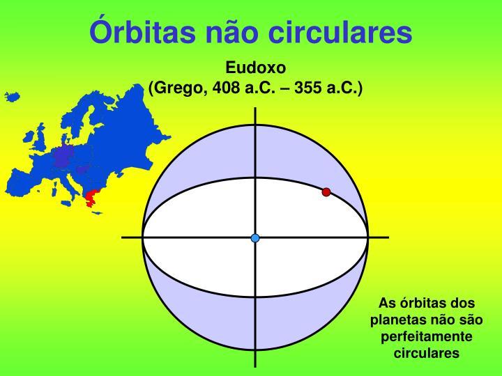 Órbitas não circulares