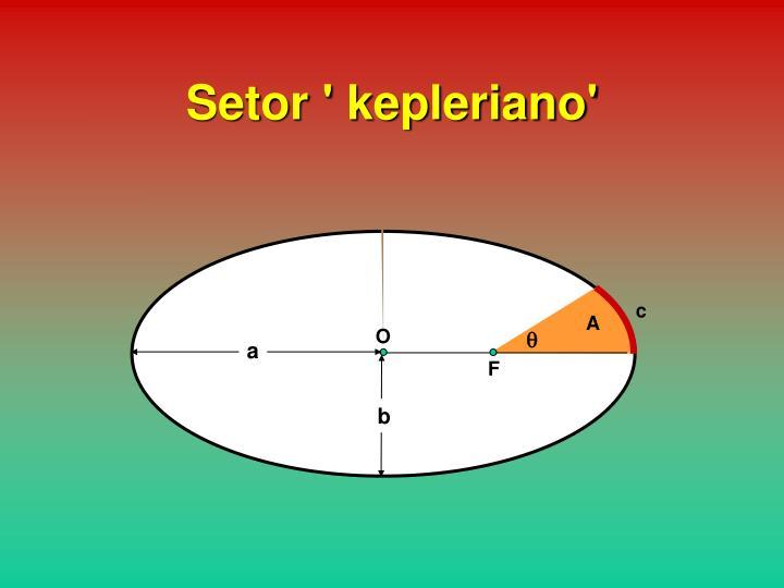 Setor ' kepleriano'