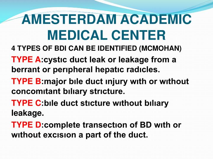 AMESTERDAM ACADEMIC MEDICAL CENTER