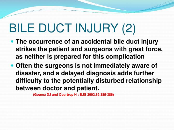 BILE DUCT INJURY (2)