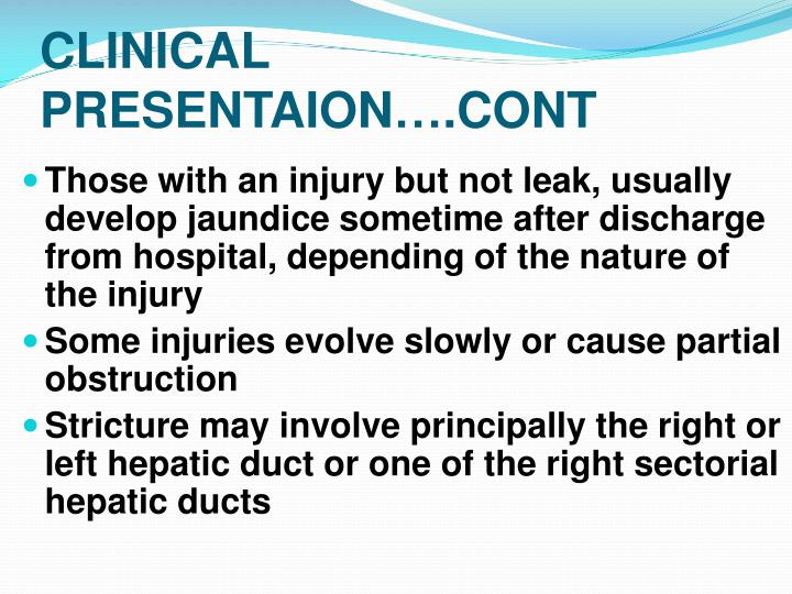 CLINICAL PRESENTAION